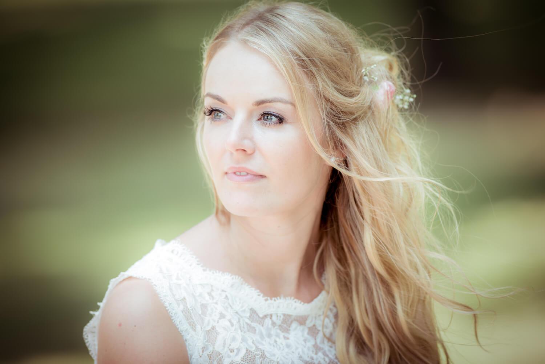 standesamtliche Trauung - Portrait der wunderschönen Braut