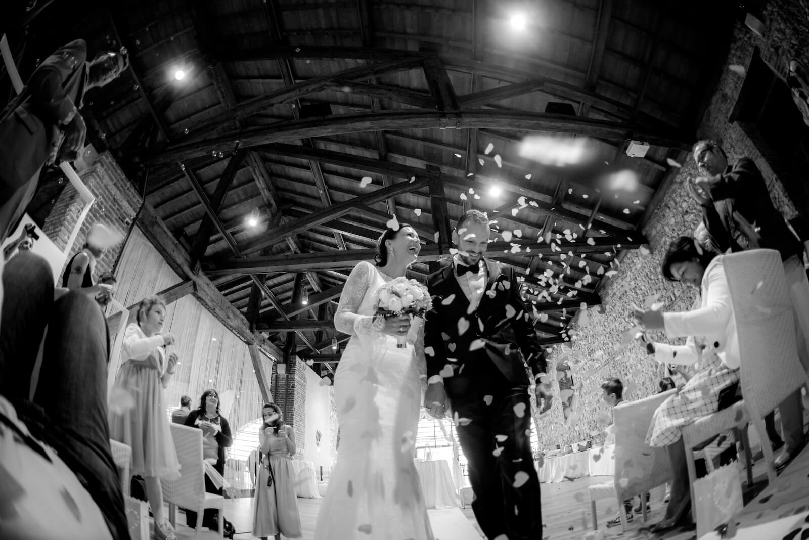 Hochzeit Gardasee - das Brautpaar nach dem Ja-Wort