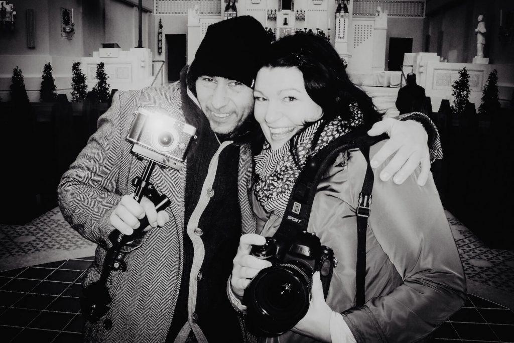 Schnappschuss der Weddingphotographer Diana und Gunter in Wien